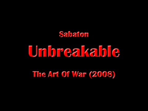 Sabaton - Unbreakable (Lyrics English \u0026 Deutsch)