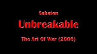Sabaton - Unbreakable (Lyrics English & Deutsch)