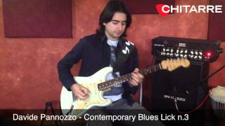 One Lick A Week: Contemporary Blues Lick 3 (Davide Pannozzo)