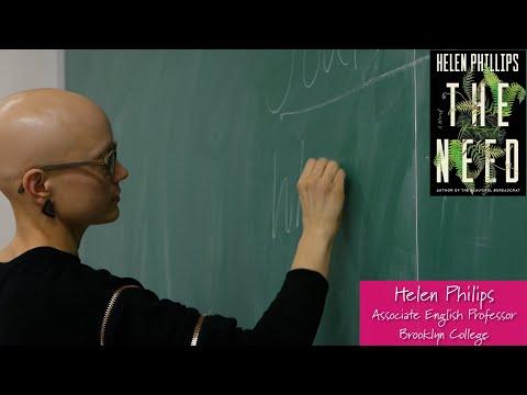 Advice For Aspiring Writers Helen Phillips Associate English Professor Brooklyn College Youtube