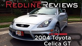 2004 Toyota Celica GT Review, Walkaround, Exhaust, & Test Drive