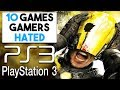 10 PlayStation 3 Games EVERY Gamer HATED!