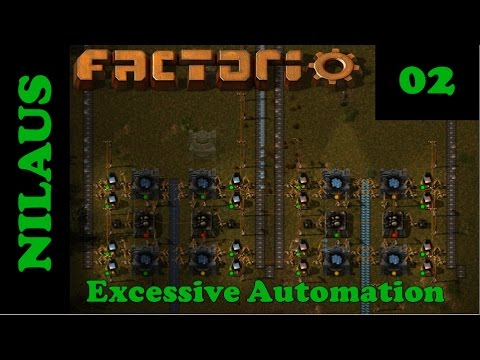 Factorio S8E02 - Crushing and Smelting Iron and Copper