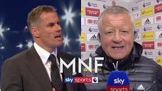 Jamie Carragher interviews Chris Wilder after Sheffield United's heroic win against Arsenal | MNF