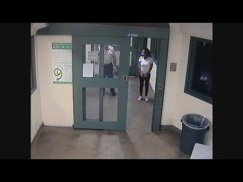 RAW VIDEO: Charisse Stinson booked into the Pinellas County Jail