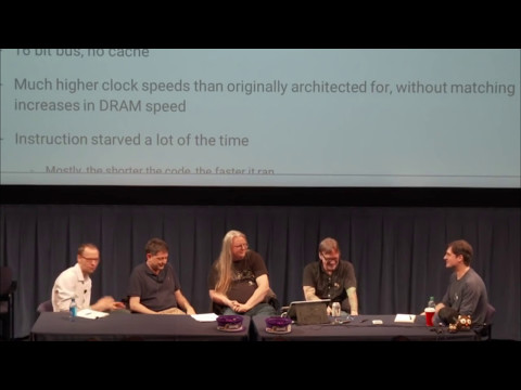 HandmadeCon 2016 D2, Chris Hecker, John Miles, Sean Barrett, Chris Green: History of Texture Mapping