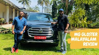 MG Gloster Detailed Review in Malayalam by Tech Travel Eat