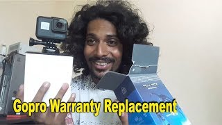 Gopro Warranty Replacement | unboxing gopro hero 5 | bullet singh boisar