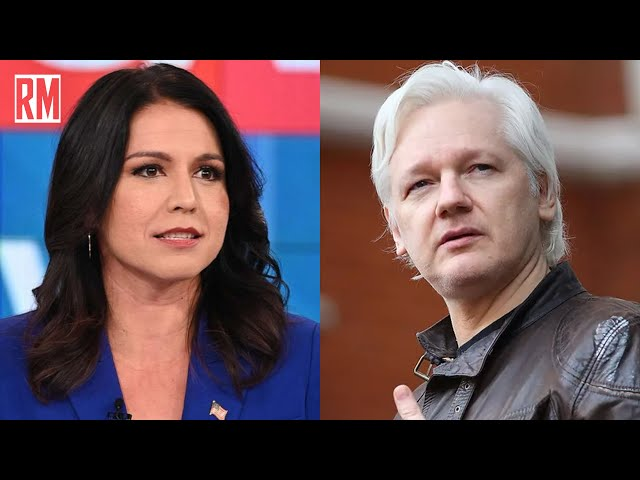 Tulsi Gabbard Introduces Bill to Drop Charges Against Assange