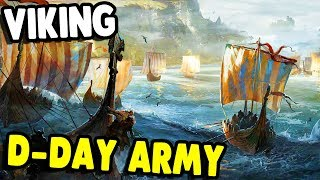 NEW RTS | VIKING D-DAY, HUGE ARMY | Ancestors Legacy Gameplay