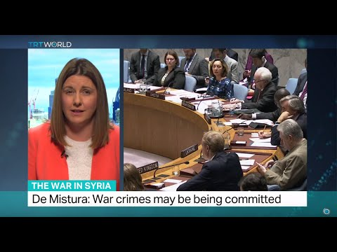 The War In Syria: UN Security Council discussed Syrian crisis