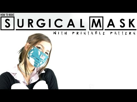 Surgical Mask How Youtube To Make -