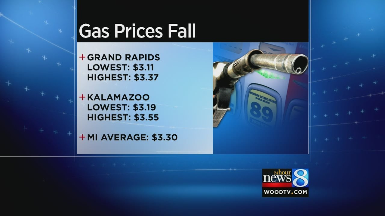 Grand Rapids Gas Prices >> Gas Prices Plunge In West Michigan