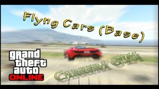GTA ONLINE - Carrera GTA - Flying Cars Base