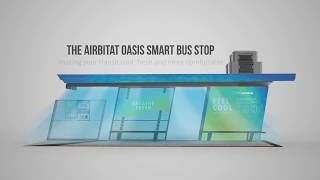 Airbitat Oasis Smart Bus Stop