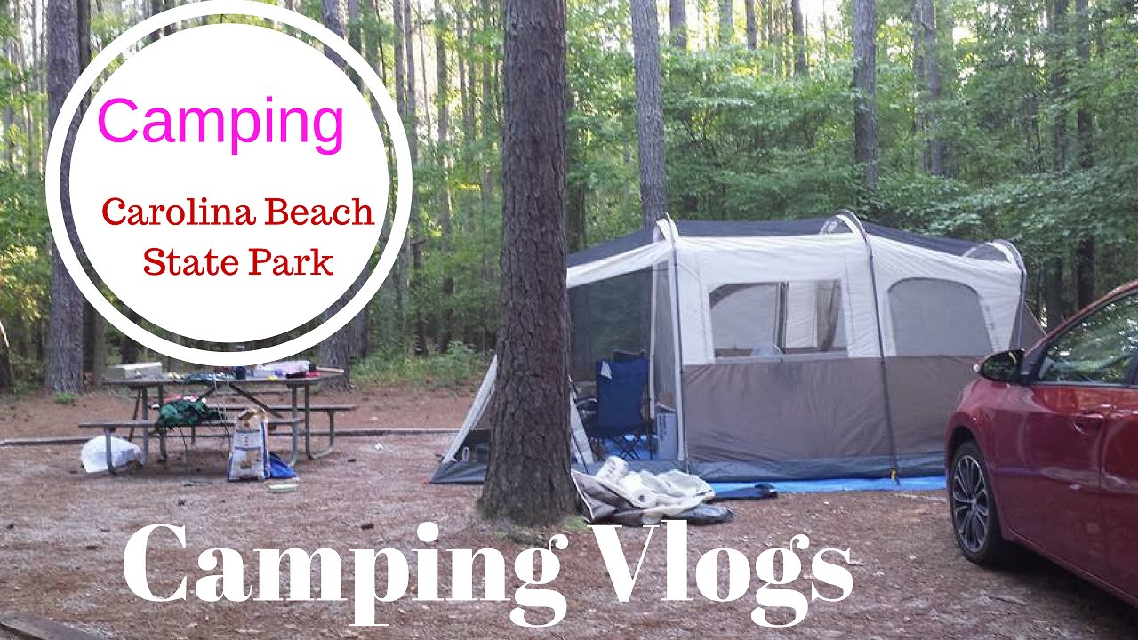 Camping At Carolina Beach North Carolina Coleman Tent