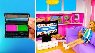 15 DIY Miniature Realistic Furniture for the Barbie Dreamhouse