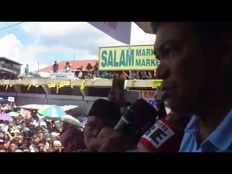 Marawi City Mayor Salic Message on his Grand Rally