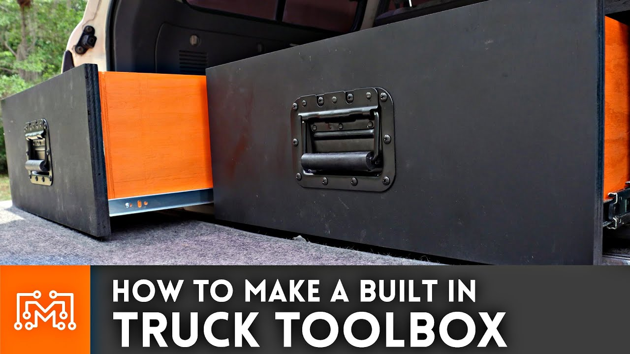 How To Build A Diy Tool Cabinet For Your Suv Truck Box