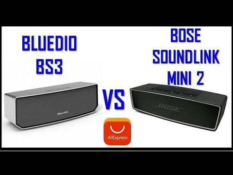 Bluedio Bs-2 vs Bs-3 vs Bose Soundlink Mini 2 Test Compra online Bolivia Aliexpress
