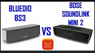 Bluedio Bs-2 vs Bs-3 vs Bose Soundlink Mini 2 Test Compra online Bolivia Aliexpress
