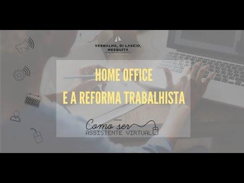 Home Office e a Reforma Trabalhista
