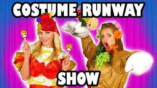 Kids Costume Runway Challenge Jenn vs Lindsey vs Margeaux. Totally TV