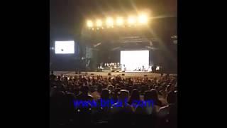 رابح صقر يتوقف عن الغناء بمهرجان دبي لحظة علمه بوفاة الملك عبدالله بن عبدالعزيز