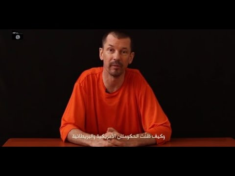 ISIS Releases New Hostage Video - British Journalist John Cantlie
