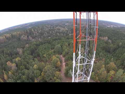 Mississippi ETV Booneville Tower Drone Video 1