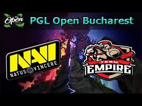 NaVi vs Empire | Group Stage | PGL Open Bucharest - CIS Qualifier