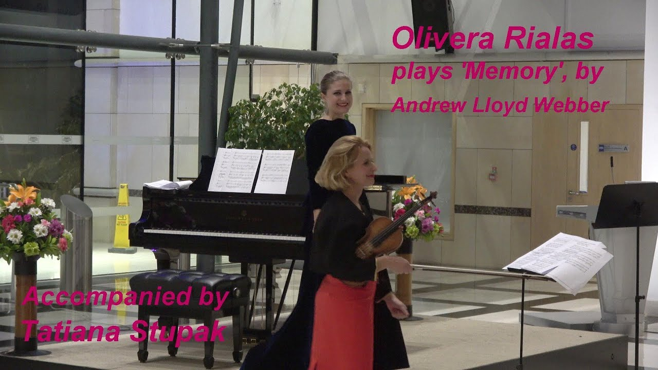 check out clearance sale new high quality Olivera Rialas plays 'Memory' by Andrew Lloyd Webber. 22 Feb 2019
