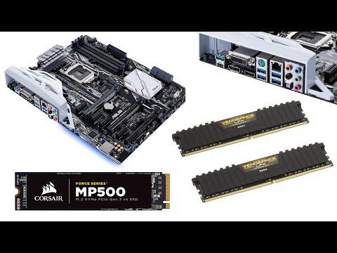 Asus prime Z270-A CPU RAM M.2 Installation