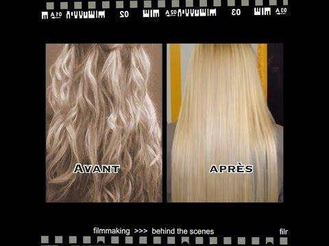 Lisser les cheveux au naturel, recette 100% naturelle
