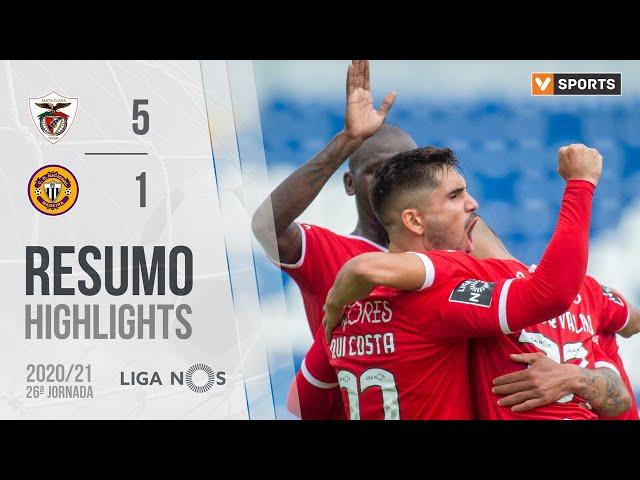 Highlights | Resumo: Santa Clara 5-1 CD Nacional (Liga 20/21 #26)