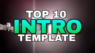 Top 10 Intro Templates no text [Free Download] 2019