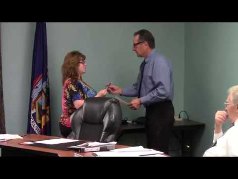 Champlain Town Board Meeting  5-8-18