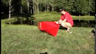 Coroplast Folding Kayak