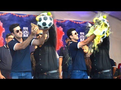 Ranbir Kapoor Dahi Handi/Janmashtami Celebrations 2016
