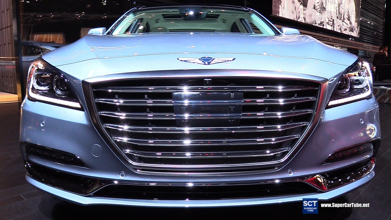 2018 genesis ultimate. brilliant ultimate 2018 genesis g80 50l htrac  exterior and interior walkaround 2017  detroit auto show youtube for genesis ultimate 8