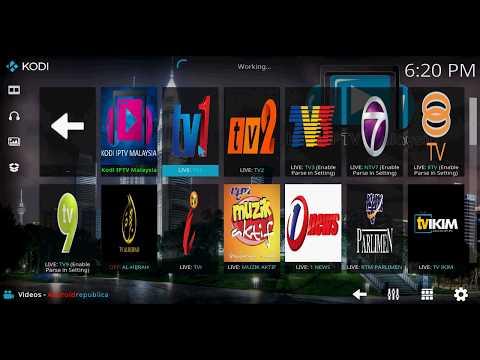 Kodi Watch Malaysia Live TV Androidrepublica Addon
