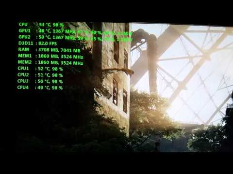how to show the power usage on msi afterburner