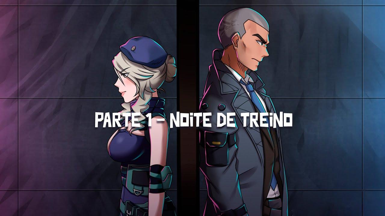 O TREINO DE RAFAEL E LAURA - Noite de Nocaute | Free Fire