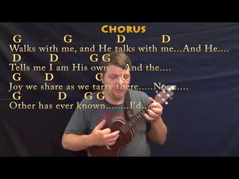 In the Garden (Hymn) Ukulele Cover Lesson in G with Chords/Lyrics