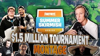 $1,500,000 Summer Skirmish PAX Fortnite Tournament Montage