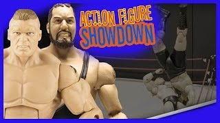 Brock Lesnar Superplex - Action Figure Showdown (mbg1211)