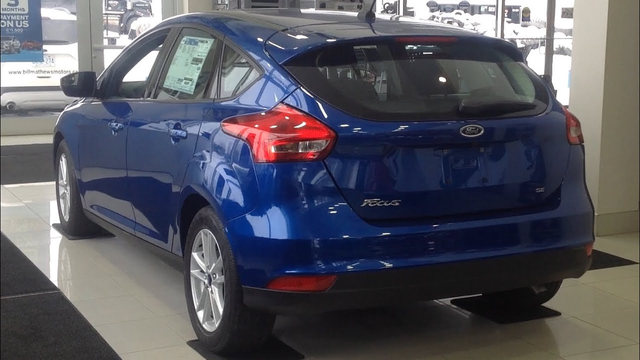 2018 Ford Focus Se Hatchback Exterior Interior Full Tour