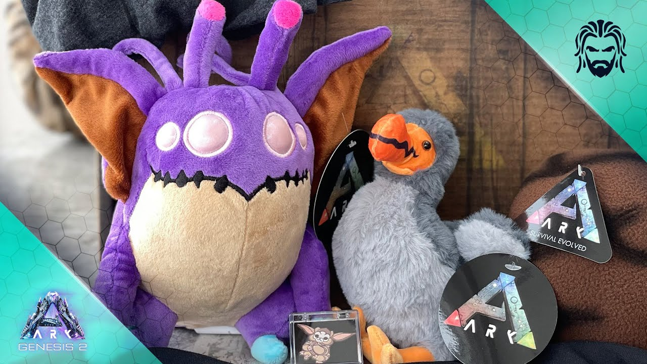 ARK Gift Unboxing & Plushie Giveaway!