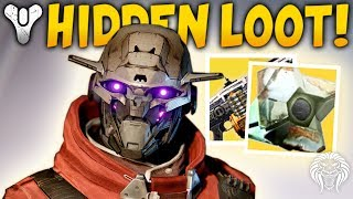 Destiny 2: UNKNOWN EXOTIC & PYRAMID SHIPS FOUND! Secret Locked Quest, Cosmodrome & Queen Update