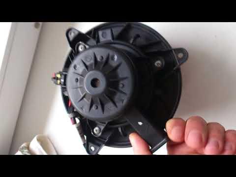 Ремонт двигателя отопителя Шевроле круз. (устранение скрипа и шершания)